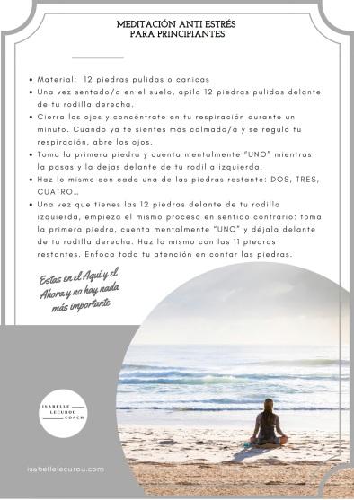 Portada - meditación anti estrés